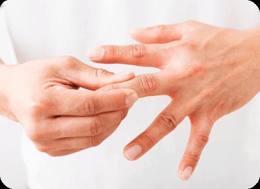 手の痛み・強ばり